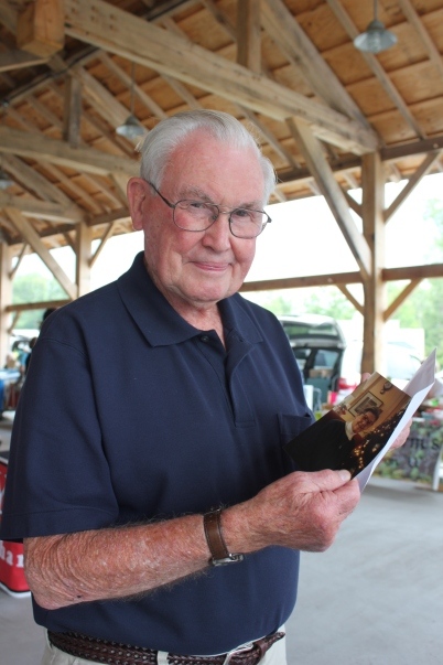 Don Sanborn, Schoolcraft historian and Air Zoo volunteer, was honored by the Historical Society of Michigan for his many years of preservation and promotion of local history.