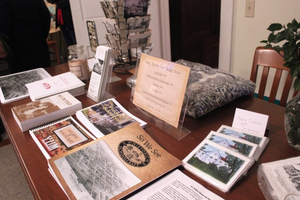 The Underground Railroad house in Schoolcraft has antiques on display that were donated by area residents or found by Don and Sheila Sanborn in their ceaseless effort to build the museum.