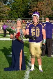 Schoolcraft's Queen and King: Madi Ballett and Jack Fowler.