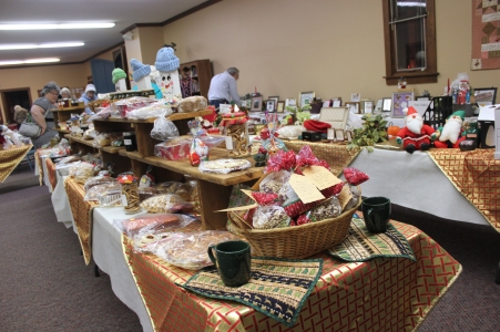 Many fine craft items will be for sale at the Schoolcraft United Methodist Church during the Christmas Walk.