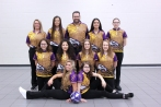 Bowling Kneeling from left: Savanah McDonald, Molly Pearce. Middle row from left: Maya Pearce, Salma Kadimi, Alayna Meade, Catie Wright. Back row from left: Madi Ballett, Dani Warnaar, Head Coach Mark Blentlinger, Clair McIntyre, Brynleigh Macinnes. Missing from the photo: Haley Earles.
