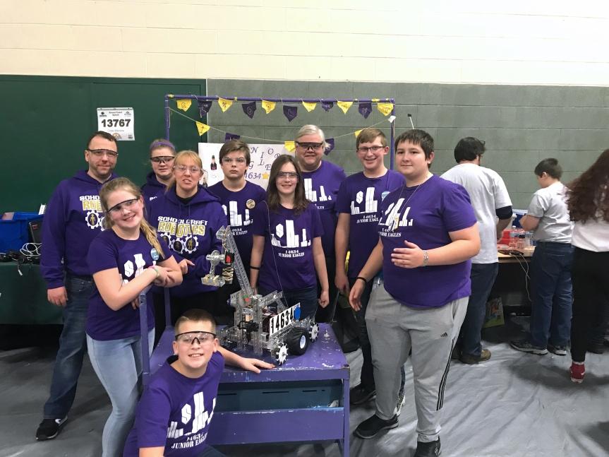 Team robotics schoolcraft