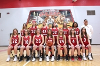 Freshman Basketball From left seated: Makenzie Freund, Hazen Vermeulen, Abby Bruystens, Amanda Laughery, Molly Young, Grace Kelly, Jenna Hall. Standing from left: Grace Smith, Kennedy Davis, Rylee Crabtree, Renee Weesner, Mykaila Scamazzo, Bailee Brown, Coach Andrew Diep.
