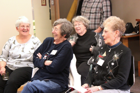 Senior citizens from Schoolcraft at one of the OLLI programs.