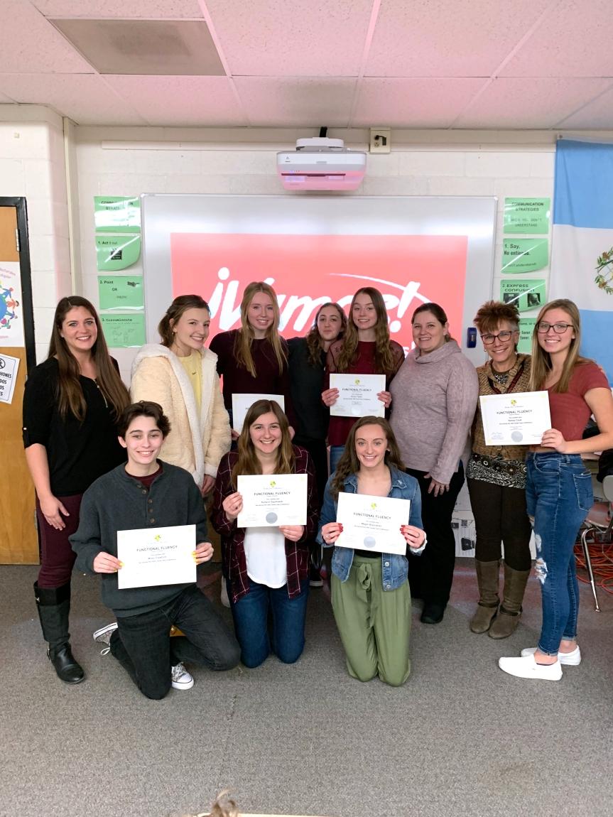 biliteracy certificate winners