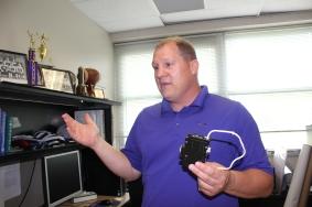 Schoolcraft High School Athletic Director Jeff Clark.