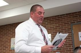 Vicksburg High School Athletic Director Mike Roy.