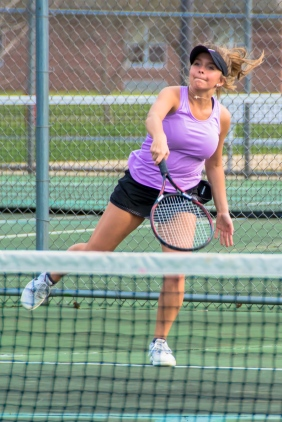 Schoolcraft tennis player Savannah McDonald, mentioned in Sue Kedrowicz's story.